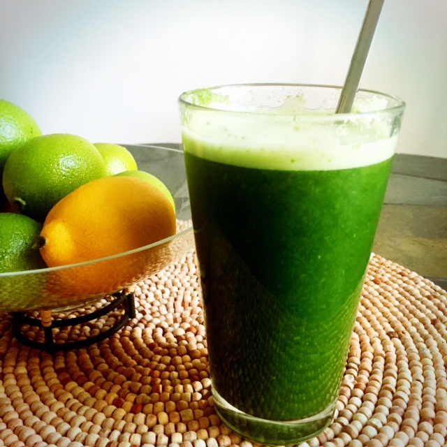 The afternoon-pick-me-up kale smoothie or the kale-kool-aid