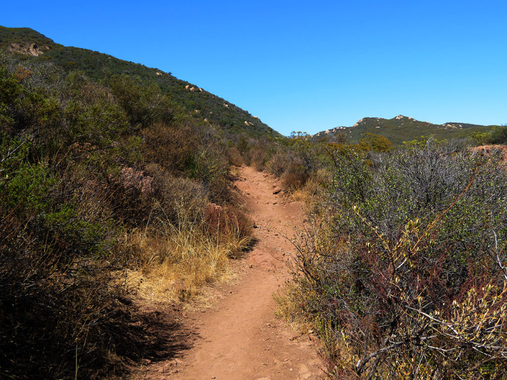 backbone trail santa monica mountains